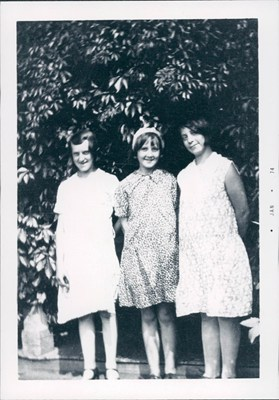 1930 - Ina on the right at age 13