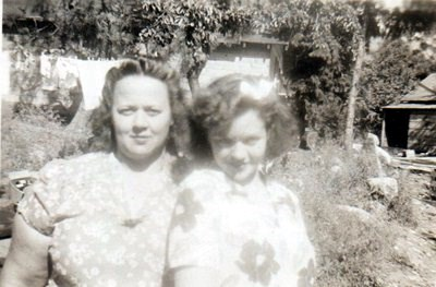 Jan & Mom Lyda, growing up in Lucerne, approx. 1940