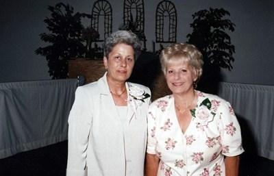Lois & Judy Jennings at Diane's Wedding